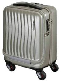 FREQUENTER フリクエンター TSAロック搭載スーツケース「Frequenter Clam Advance」 1-217 ゴールド [23L]
