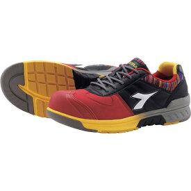 ドンケル DONKEL ディアドラ 安全作業靴 ブルージェイ  レッド/ホワイト/ブラック 25.5cm BJ312255