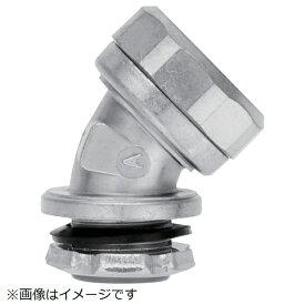 三桂製作所 SANKEI MANUFACTURING SANKEI ケイフレックス用 コネクタ ノックアウト接続用 管用平行おねじ付き 45°形 K24BG54