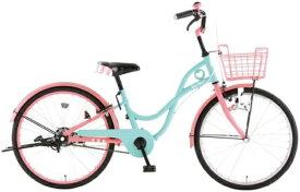 アサヒサイクル Asahi Cycle 22型 子供用自転車 ラブマジック22(ピンク×ミント/シングルシフト) CLM22【2020年モデル】【組立商品につき返品不可】 【代金引換配送不可】