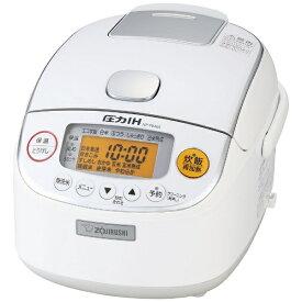 象印マホービン ZOJIRUSHI NP-RM05-WA 炊飯器 極め炊き ホワイト [3合 /圧力IH]