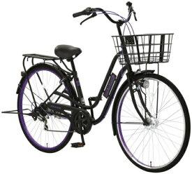 アサヒサイクル Asahi Cycle 27型 自転車 ジョイブロック76S(ブラック×Mパープル/外装6段変速) FJF76S【2020年モデル】【組立商品につき返品不可】 【代金引換配送不可】