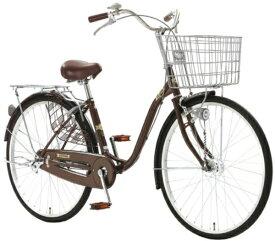 アサヒサイクル Asahi Cycle 26型 自転車 ラピス26G(ダークブラウン/シングルシフト) FSJ6G【2020年モデル】【組立商品につき返品不可】 【代金引換配送不可】