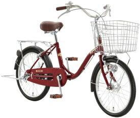 アサヒサイクル Asahi Cycle 24型 自転車 ラピス24G(Nレッド/シングルシフト) FSJ4G【2020年モデル】【組立商品につき返品不可】 【代金引換配送不可】