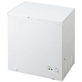 アイリスオーヤマ IRIS OHYAMA 《基本設置料金セット》ICSD-14A-W 冷凍庫 ホワイト [1ドア /上開き /142L]
