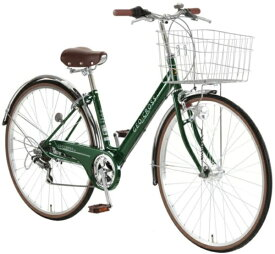 アサヒサイクル Asahi Cycle 27型 自転車 ジオクロス プラス 276(ディープグリーン/外装6段変速/LEDオートライト) FV76BI【2020年モデル】【組立商品につき返品不可】 【代金引換配送不可】