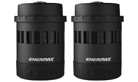 ENERMAX エナーマックス EAS05-BK ブルートゥーススピーカー Pharosliteシリーズ ブラック [Bluetooth対応][EAS05BK]