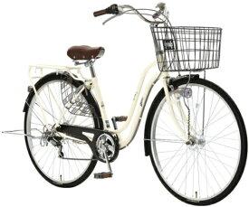 アサヒサイクル Asahi Cycle 27型 自転車 スウェル276(ミルクホワイト/外装6段変速) T76JWD【2020年モデル】 【代金引換配送不可】