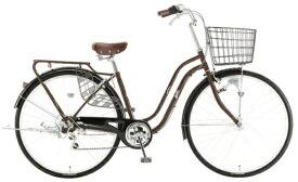 アサヒサイクル Asahi Cycle 27型 自転車 スウェル276(ダークブラウン/外装6段変速) T76JWD【2020年モデル】 【代金引換配送不可】