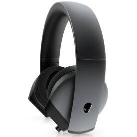 DELL デル AW510H-D ゲーミングヘッドセット ALIENWARE ダークサイドオブザムーン [φ3.5mmミニプラグ /両耳 /ヘッドバンドタイプ][AW510HD]