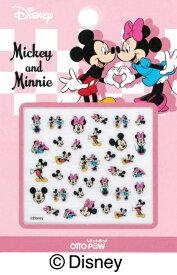 ビジョンネット OTTO POW(オットポゥ) DSネイルシール 10 ミッキーマウス&ミニーマウス〔ネイルシール〕