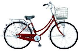 MARUKIN マルキン 26型 自転車 レイニーホーム HD263-B(レッド/3段変速)MK-20-044【2020年モデル】【組立商品につき返品不可】 【代金引換配送不可】