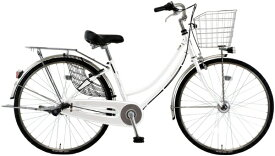 MARUKIN マルキン 26型 自転車 SWANKY スワンキーホーム(ホワイト/内装3段変速)MK-20-019【2020年モデル】【組立商品につき返品不可】 【代金引換配送不可】