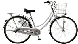 MARUKIN マルキン 26型 自転車 SWANKY スワンキーホーム(シルバー/内装3段変速)MK-20-019【2020年モデル】【組立商品につき返品不可】 【代金引換配送不可】