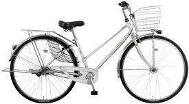 MARUKIN マルキン 27型 自転車 SWANKY スワンキーシティ(シルバー/内装3段変速)MK-20-021【2020年モデル】【組立商品につき返品不可】 【代金引換配送不可】