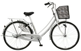 MARUKIN マルキン 26型 自転車 TRAFFIC トラフィック ホーム(シルバー/内装3段変速)MK-20-048【2020年モデル】【組立商品につき返品不可】 【代金引換配送不可】