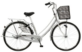 MARUKIN マルキン 27型 自転車 TRAFFIC トラフィック ホーム(シルバー/内装3段変速)MK-20-049【2020年モデル】【組立商品につき返品不可】 【代金引換配送不可】