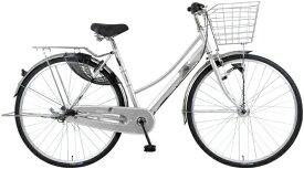 MARUKIN マルキン 28型 自転車 TRAFFIC トラフィックグランデ(シルバー/内装3段変速)MK-20-055【2020年モデル】【組立商品につき返品不可】 【代金引換配送不可】