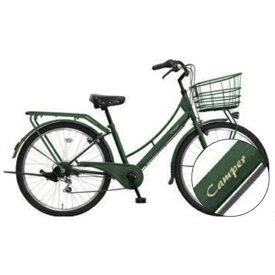MARUKIN マルキン 27型 自転車 Camper カンペール(マットグリーン/外装6段変速)MK-20-057【2020年モデル】【組立商品につき返品不可】 【代金引換配送不可】