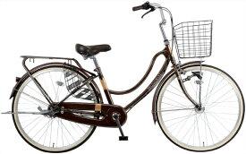 MARUKIN マルキン 26型 自転車 FLOATMIX フロートミックス(ダークブラウン/内装3段変速)MK-20-058【2020年モデル】【組立商品につき返品不可】 【代金引換配送不可】
