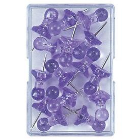 ミツヤ mitsuya インテリアピン紫15本 DM-1000-VO