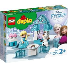 レゴジャパン LEGO 10920 デュプロ エルサとオラフのティーパーティー