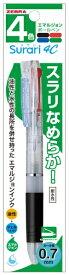 ゼブラ ZEBRA スラリ4C07N透明1本入M P-B4A11-C
