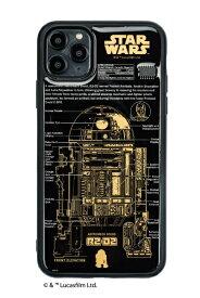 電子技販 DENSHI-GIHAN FLASH R2-D2 基板アートiPhone 11Pro Maxケース 黒 IP11PM-250B