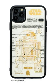 電子技販 DENSHI-GIHAN FLASH R2-D2 基板アートiPhone 11Pro Maxケース 白 IP11PM-250W