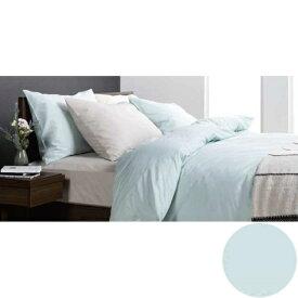 フランスベッド FRANCEBED 【ボックスシーツ】エッフェ スタンダード キングサイズ(綿100%/195×195×35cm/ブルー) フランスベッド