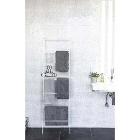 山崎実業 Yamazaki プレート ランドリーラダーハンガー(Laundry Ladder Hanger Plate) ホワイト 3969