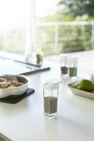 山崎実業 Yamazaki スパイスボトル アクア ホワイト(Spice Bottle AQUA WH) ホワイト 02880