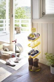 山崎実業 Yamazaki キッズシューズラック クマ(Kid'S Shoes Rack Yl) 07963
