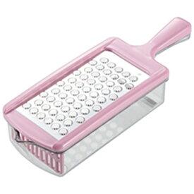 カクセー Kakusee ステンレス製おろし器おろしぼり ピンク 05836