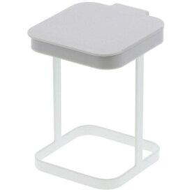 山崎実業 Yamazaki 蓋付きポリ袋エコホルダー プレート(Plastic Bag Eco Holder With Lid Plate) ホワイト 03353