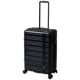 東急ハンズ hands+ スーツケース カラーシリーズ ジップ ミッドナイトブルー [58L]