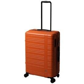 東急ハンズ hands+ スーツケース カラーシリーズ ジップ オレンジ [58L]