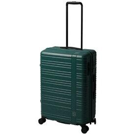 東急ハンズ hands+ スーツケース カラーシリーズ ジップ グリーン [58L]