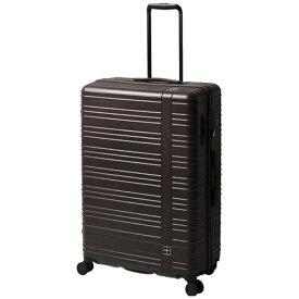 東急ハンズ hands+ スーツケース カラーシリーズ ジップ ブラウン [90L]