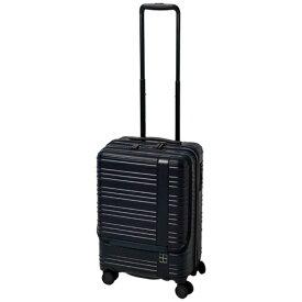 東急ハンズ hands+ スーツケース カラーシリーズ フロント ミッドナイトブルー [35L]