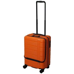 東急ハンズ TOKYU HANDS hands+ スーツケース カラーシリーズ フロント オレンジ [35L]
