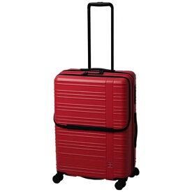 東急ハンズ hands+ スーツケース カラーシリーズ フロント ピンク [58L]