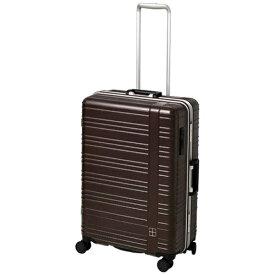 東急ハンズ hands+ スーツケース カラーシリーズ フレーム ブラウン [70L]