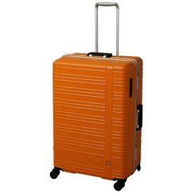 東急ハンズ TOKYU HANDS hands+ スーツケース カラーシリーズ フレーム オレンジ [95L]