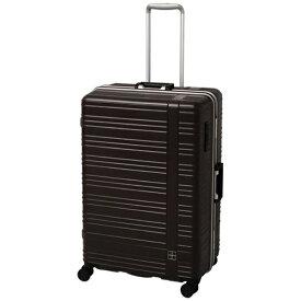 東急ハンズ hands+ スーツケース カラーシリーズ フレーム ブラウン [95L]