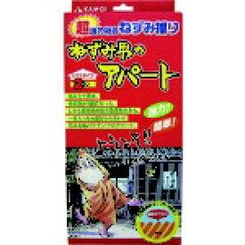 カモ井加工紙 KAMOI カモ井 超強力粘着ねずみ捕り ねずみ男のアパート(ハウスタイプ) NEZUMIOTOKONOAPART