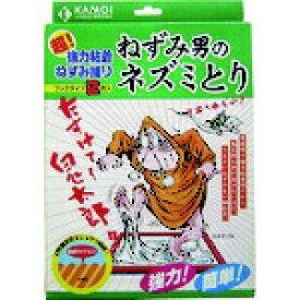 カモ井加工紙 KAMOI カモ井 超強力粘着ねずみ捕り ねずみ男のネズミとり(ブックタイプ) NEZUMIOTOKONONEZUMITORI