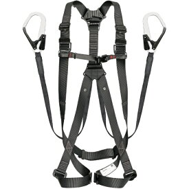 TJMデザイン タジマ ハーネスGS 平ロープ ダブルL1セット 黒S A1GSSFR-WL1BK