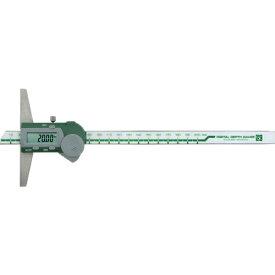 新潟精機 SK デジタルデプスゲージ 200mm GDCS-200D