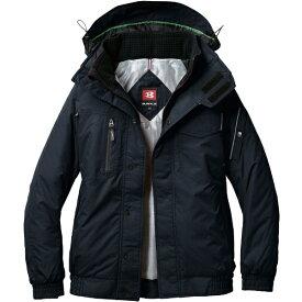 バートル BURTLE バ−トル 防寒ジャケット 7210−35−S ブラック 7210-35-S